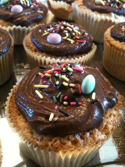 Cupackes chantilly chocolat