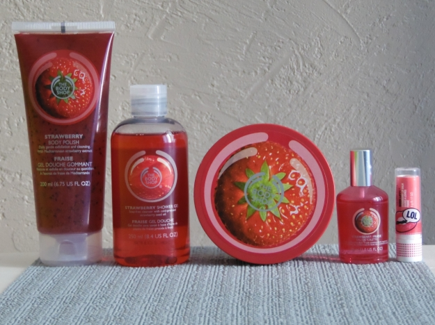 Razzia chez THE BODY SHOP !